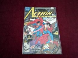 SUPERMAN VS SUPERBOY  ACTION COMICS    N° 591 AUG 87 - DC