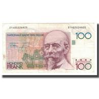 Billet, Belgique, 100 Francs, KM:142a, TTB - [ 2] 1831-... : Belgian Kingdom