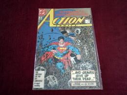 SUPERMAN & THE PHANTOM STRANGER  ACTION COMICS N° 585  FEB 87 - DC