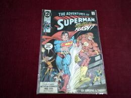 THE ADVENTURES OF SUPERMAN  N° 463 FEB 90 - DC