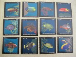 Nevis 2013 Marine Life Fish SC#1769-1780 I202005 - Meereswelt