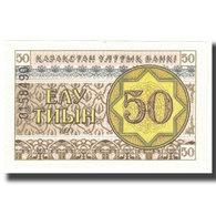 Billet, Kazakhstan, 50 Tyin, 1993, KM:6, NEUF - Kasachstan