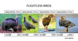 Maldives 2019 Fauna  Flightless Birds S202002 - Maldives (1965-...)