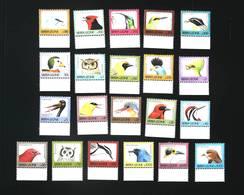 Sierra Leone 1992/1993 Birds SCOTT No.1528-1546B - Sierra Leone (1961-...)