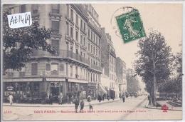 PARIS- TOUT PARIS- FF 1233- BOULEVARD DE LA GARE- MAISON MARIEUX - CAFE- BILLARD- PRISE DE LA PLACE D ITALIE- PARIS XIII - France