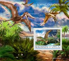 Maldives 2019   Flying Dinosaurs  S202002 - Maldives (1965-...)