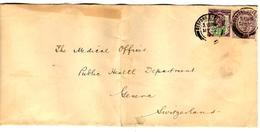 32318 - 2 TP Avec Perforations Commerciales - 1840-1901 (Viktoria)