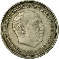 Monnaie, Espagne, Caudillo And Regent, 5 Pesetas, 1963, TTB, Copper-nickel - [ 5] 1949-… : Reino