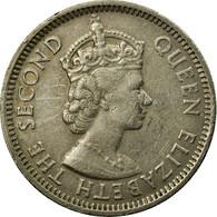 Monnaie, Etats Des Caraibes Orientales, Elizabeth II, 25 Cents, 1965, TTB - Ostkaribischer Staaten