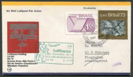 Lufthansa Erstflug (First Flight) LH 501 Buenos Aires-Frankfurt 03.07.1974 Douglas DC 10 Luftpost (Airmail) - Flugzeuge