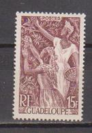 GUADELOUPE     N°  YVERT  :   210     NEUF AVEC  CHARNIERES      ( Ch  3 / 24 ) - Guadeloupe (1884-1947)