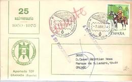 MATASELLOS 1974 BARCELONA  DEVUELTA A SU PROCEDENCIA - 1931-Hoy: 2ª República - ... Juan Carlos I