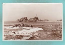 Small Postcard Of La Corbiere Lighthouse,Jersey,Channel Islands,R86. - Jersey