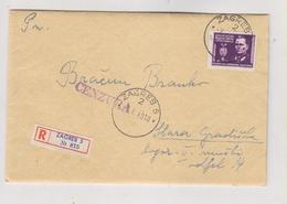 YUGOSLAVIA,1946 ZAGREB Censored Cover To STARA GRADISKA - Lettres & Documents