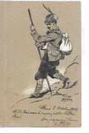 DIVERS    CARTE GAUFFREE ALPINISTE HOMME   EN ACTION   ILLUSTRATEUR  HEYER ? GROS PLAN - Ansichtskarten