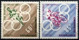 1964Dahomey239-2401964 Olympic Games In Tokio5,00 € - Summer 1964: Tokyo