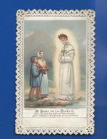 Image Religieuses  Dentellée    Notre Dame De La Salette      Année 1880 - Andachtsbilder