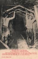 Mines - Nouvelle Série Des Mineurs - Boisage Dans Une Galerie De Mine - Edition Alexandre, Carte N° 3 - Mines