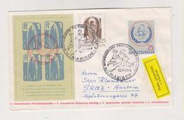 YUGOSLAVIA,1961 Maribor Nice Cover Rocket Poster Stamp To Austria - 1945-1992 Sozialistische Föderative Republik Jugoslawien
