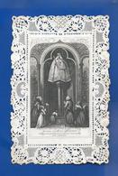 Image Religieuses  Dentellée      O Marie - Andachtsbilder