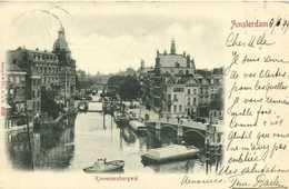 Amstredam Kloveniersbirgwal  Precurseur 1899 RV  Beau Timbre 5 Cent Vers Damas Syrie - Amsterdam