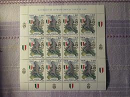 Minifoglio Con Appendici Juventus Campione  Coppa 2005 - 6. 1946-.. Repubblica