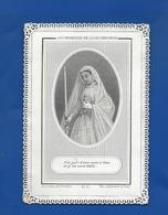 Image Religieuses  Dentellée  Ma Consécration à Marie - Andachtsbilder