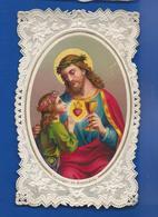 Image Religieuses  Dentellée   Jésus - Andachtsbilder