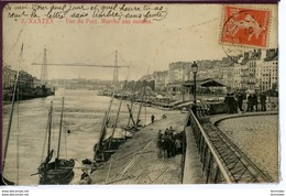 Dpt 44 Nantes Vue Du Port - Marche Aux Moules Animee 1907 EVT BE - Nantes
