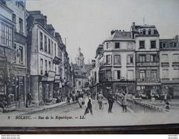Dpt 76 Bolbec Rue De La Republique, Aux Elegantes Magasins Guerin No8 Ed LL Animee 1916 EV  TBE - France