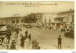 Dpt 14 Deauville La Plage Fleurie Pendant Les Grandes Fete Devant Le Casino No425 Ed P Le Havre Leg. Dech BD - France