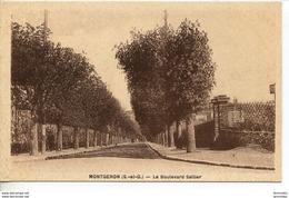 Dpt 91 Corbeil Montgeron Boulevard Sellier - Autres Communes