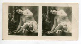 NU French Charm 014 Jean  AGELOU JA Série 15 STEREO Jeune Femme Bas Chemise Baissée Assise Sur Meuble  - EROTISME - Fine Nudes (adults < 1960)