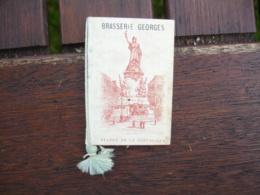 1923 Calendrier Almenach  Brasserie Georges  Biere Dumesnil Et Kochelbrau - Calendars