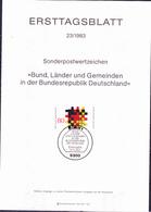 BRD FGR RFA - Grundgedanken Der Demokratie - Förderalismus (MiNr: 1194) 1978 - ETB 23/1983 - BRD