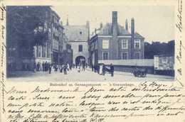 Buitenhof En Gavangenpoort 'sGravenhage Precurseur 1899 RV Beau Timbre 5 Vers Damas Syrie - Den Haag ('s-Gravenhage)
