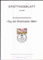 BRD FGR RFA - Tag Der Briefmarke (MiNr: 1229) 1984 - ETB 22/1984 - BRD