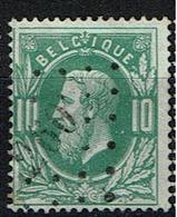 30  Obl  LP 260  Merchtem  + 25 - 1869-1883 Léopold II