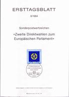 BRD FGR RFA - Zweite Direktwahlen Zum Europäischen Parlament (MiNr: 1209) 1984 - ETB 8/1984 - BRD