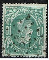 30  Obl  LP 384  Waereghem + 5 - 1869-1883 Leopold II.