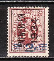 PRE271A  Lion Héraldique - Antwerpen 1934 - MNG - LOOK!!!! - Typo Precancels 1929-37 (Heraldic Lion)
