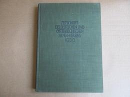 Zeitschrift Des Deutschen Und Ostrreichischen Alpen-Vereins 1930 (Band 61) - Books, Magazines, Comics