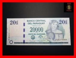 PARAGUAY 20.000 20000 Guaranies 2015  P. 238 A Serie F   UNC - Paraguay