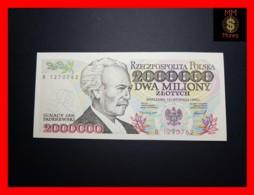 POLAND 2.000.000 2000000 Zlotych 16.11.1993  P. 163 - Poland
