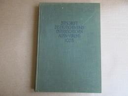 Zeitschrift Des Deutschen Und Ostrreichischen Alpen-Vereins 1928 (Band 59) - Books, Magazines, Comics