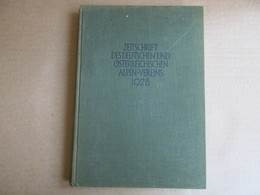 Zeitschrift Des Deutschen Und Ostrreichischen Alpen-Vereins 1928 (Band 59) - Livres, BD, Revues