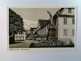 Seelbach B. Lahr, Straßenpartie, AK, Ungelaufen - Duitsland