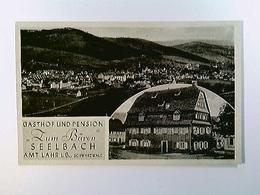 Seelbach B. Lahr, Gasthof Zum BÄren, 2 Ansichten, AK, Ungelaufen - Duitsland