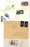 MAURITANIE 4X ENV 1963/79 DONT PA 27 ET 29 - Mauretanien (1960-...)