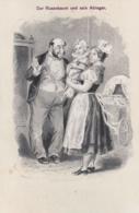 AK - (Judaika) - Karikatur - Der Rosenbaum Und Sein Ableger 1900 - Judaisme
